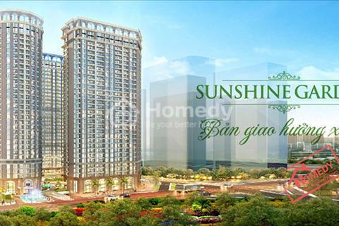 Chung cư SunShine Garden, liền kề Times City, giá 28,5triệu/m2,NH hỗ trợ 70% và 0% LS đến nhân nha