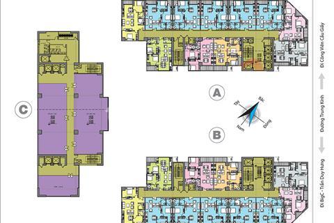 Tôi chủ nhà căn hộ 10 - 69,9 m2, dự án 219 Trung Kính, cần bán gấp do chuyển công tác vào Sài Gòn