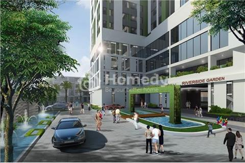 Bán căn hộ chung cư cao cấp Riverside Garden gần Ngã Tư Sở - Chiết khấu 2%, vay  không lãi suất.