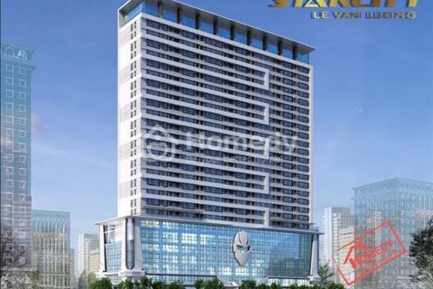 Cho thuê căn hộ chung cư Star City Lê Văn Lương, diện tích 80 m2, 2 phòng ngủ, đủ đồ