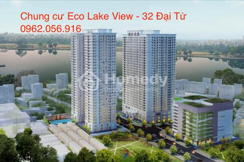 Chung cư Eco Lake View 32 Đại Từ, giá chỉ từ 1,6tỷ/ căn, Full tiện ích, view 3 hồ