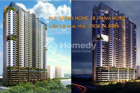 chung cư FLC Green Home 18 Phạm Hùng, giá chỉ từ 1,3 tỷ /2 phòng ngủ , full nội thất