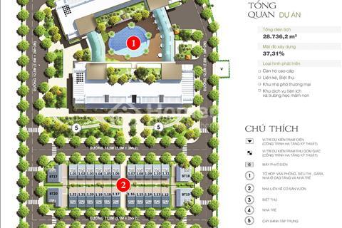 Chính chủ cần chuyển nhượng gấp lô biệt thự liền kề LK02 - 02 dự án 378 Minh Khai