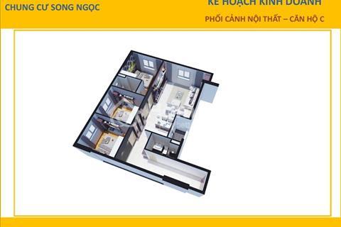 Mở bán căn hộ Song Ngọc mặt tiền đường Tạ Quang Bửu, chỉ 850 triệu căn 2 phòng ngủ