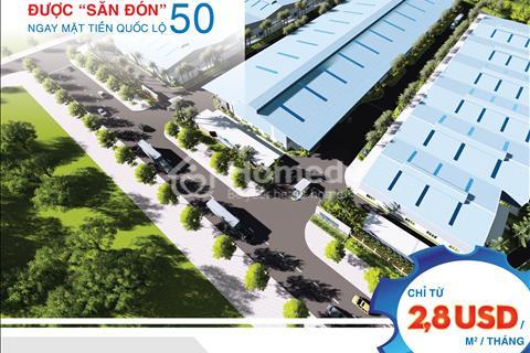 Khu công nghiệp Tân Kim cho thuê nhà xưởng dịch vụ ossif - mặt tiền quốc lộ 50