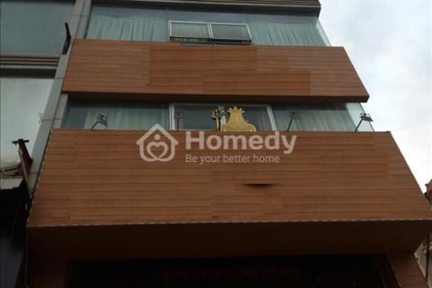 Cho thuê nhà mặt phố Trần Thái Tông, diện tích 90 m2 x 8 tầng