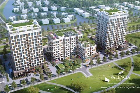 Hãy sở hữu căn hộ đầy đủ tiện ích tại Valencia Garden giá chỉ  21 triệu/m2