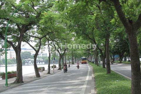 Bán nhà mặt phố Hồ Đắc Di, giá 9 tỷ, nhìn hồ kinh doanh