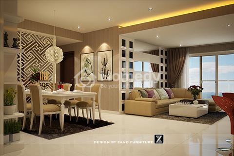 Bán căn hộ Tropic Garden 112 m2 với 3 phòng ngủ, view sông tầng cao