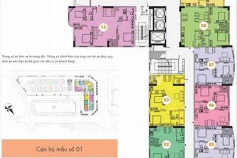 Bán cắt lỗ căn 2 phòng ngủ tòa CT1B Khu đô thị mới Nghĩa Đô