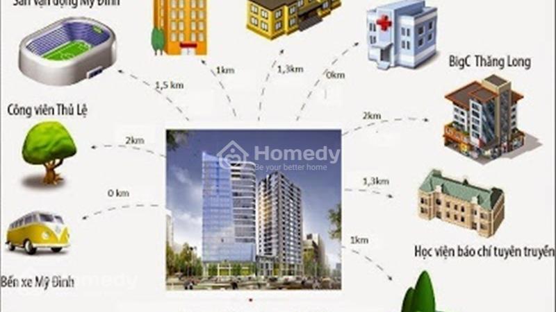Bán suất ngoại giao 59,4 m2, tầng đẹp The Garden Hill - giá siêu rẻ, kí trực tiếp chủ đầu tư - 3