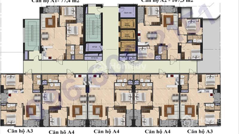 Bán suất ngoại giao 59,4 m2, tầng đẹp The Garden Hill - giá siêu rẻ, kí trực tiếp chủ đầu tư - 4