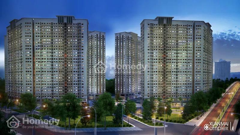 Mua nhà chỉ với 170 triệu - Xuân Mai Complex giá tốt cho người thu nhập thấp - 2