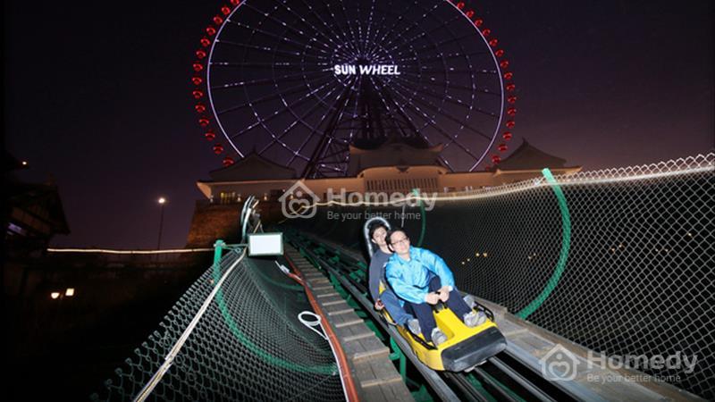 Sunwheel về đêm