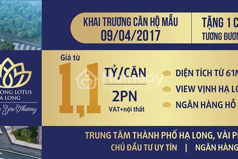 Ngày 9/4 khai trương nhà mẫu nhận vàng tại Lạc Hồng Hạ Long