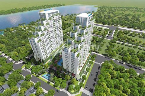 Căn hộ Duplex dự án LuxGarden, chủ đầu tư tập đoàn Đất Xanh - Tặng sân vườn trên cao