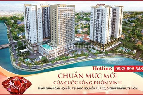 Khai trương nhà mẫu dự án Richmond City, mở bán căn hộ Riches Tower tại 79 Nguyễn Xí, Q. Bình Thạnh
