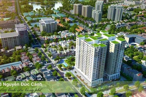 Bán căn hộ 2 phòng ngủ, diện tích 52,1 m2, chung cư HUD3 Nguyễn Đức Cảnh