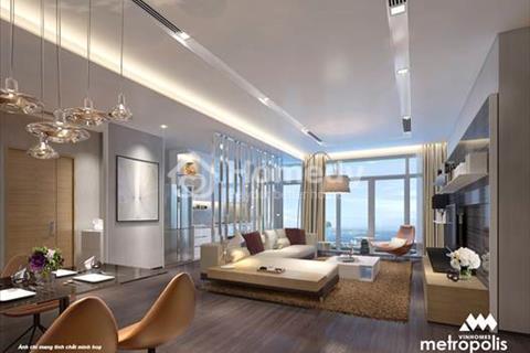 Sở hữu căn hộ 3 phòng ngủ Metropolis chỉ với giá hơn 6 tỷ. Duy nhất căn 3 phòng ngủ view Hồ Tây