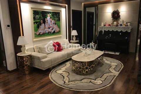 Cho thuê căn hộ chung cư số 6 Nguyễn Công Hoan, 118 m2, 3 phòng ngủ, đủ đồ, 20 triệu/tháng