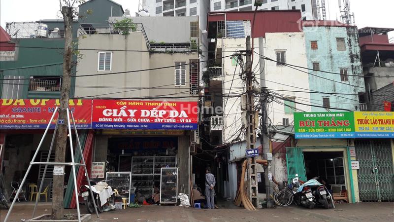 Bán nhà mặt phố Kim Giang 4,35 tỷ, lô góc nở hậu thích hợp kinh doanh - 1
