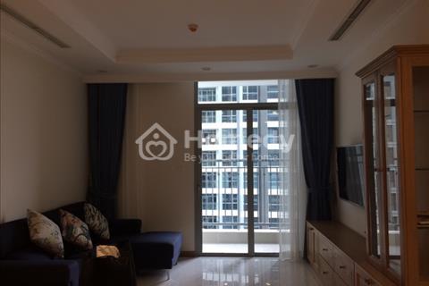 Cho thuê căn hộ Vinhomes 115 m2, tòa Central tầng thấp, 3 phòng ngủ, nội thất hiện đại
