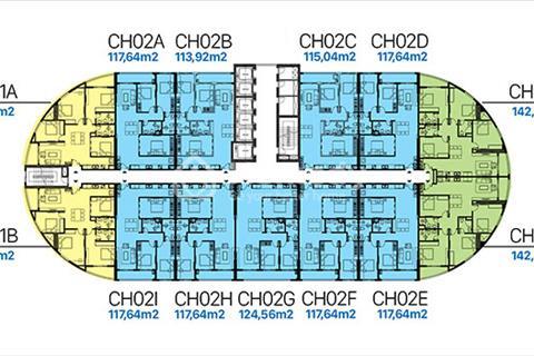 Chung cư SunShine Garden, giá chỉ 28 triệu/m2 liền kề Times City, chiết khấu ngay 8% giá trị căn hộ