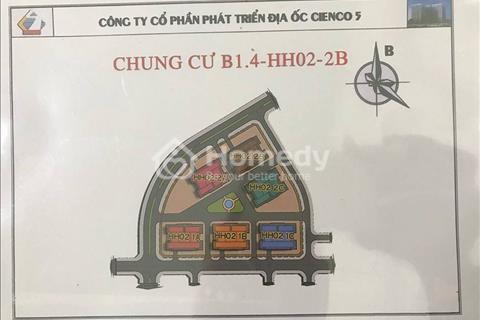 Bán căn hộ 65 m2 chung cư Thanh Hà Cienco 5, giá chỉ từ 9,5 triệu/m2