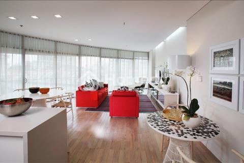 Bán gấp căn hộ City Garden, 105 m2, tầng 8. Giá 4,75 tỷ, thương lượng.