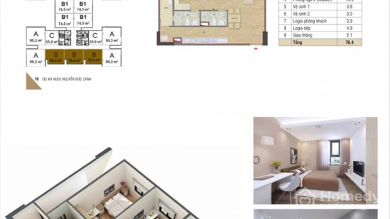 Mở bán chung cư HUD3 Nguyễn Đức Cảnh giá chỉ từ 1,1 tỷ/ căn, vị trí đắc địa, nội thất hoàn hảo - 6