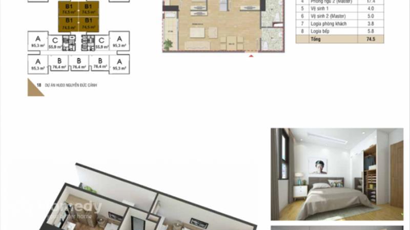 Mở bán chung cư HUD3 Nguyễn Đức Cảnh giá chỉ từ 1,1 tỷ/ căn, vị trí đắc địa, nội thất hoàn hảo - 8