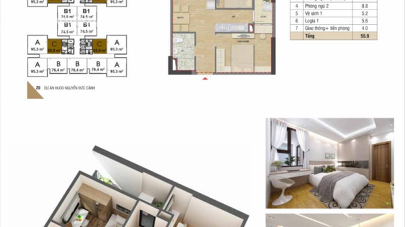 Mở bán chung cư HUD3 Nguyễn Đức Cảnh giá chỉ từ 1,1 tỷ/ căn, vị trí đắc địa, nội thất hoàn hảo - 9