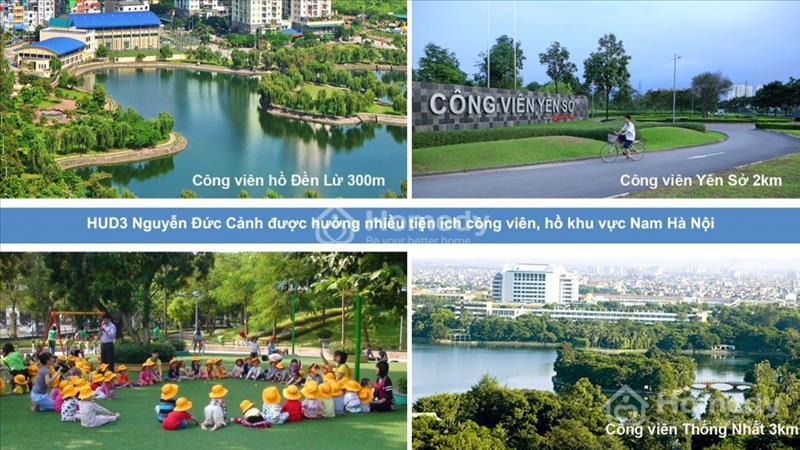 Mở bán chung cư HUD3 Nguyễn Đức Cảnh giá chỉ từ 1,1 tỷ/ căn, vị trí đắc địa, nội thất hoàn hảo - 4