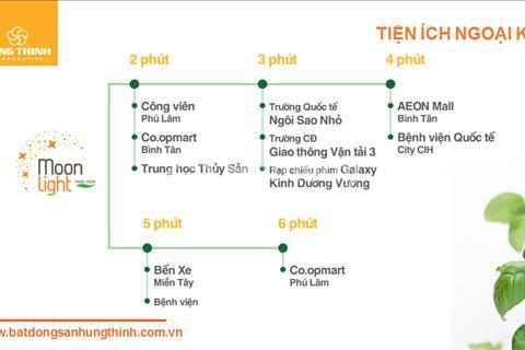 Căn hộ cao cấp Moonlight Park View chỉ 1,2 tỷ - Góp 2 năm không lãi suất - Quận Tân Bình