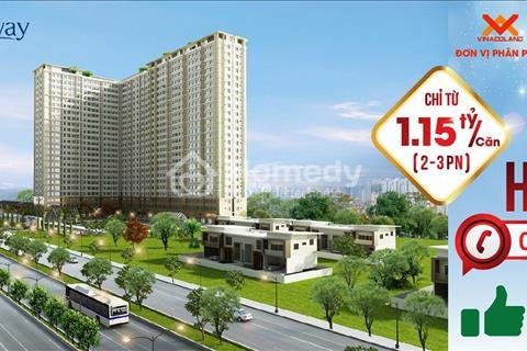Căn hộ Saigon Gateway mặt tiền đường Xa Lộ Hà Nội - liền kề quận 2 - nội thất cao cấp