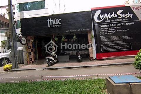 Cho thuê nhà mặt tiền đường Pasteur, phường Bến Nghé, Quận 1, Hồ Chí Minh