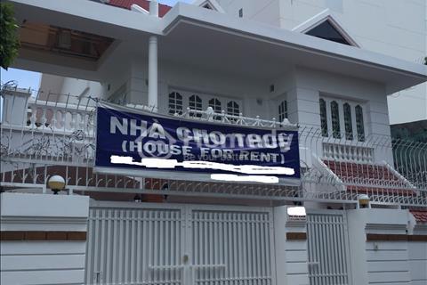 Cho thuê nhà nguyên căn góc, 2 mặt tiền đường Ung Văn Khiêm, Bình Thạnh. Diện tích 27 m x 25 m