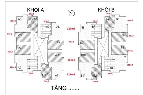Bán căn hộ Thống Nhất Complex Nguyễn Tuân, 90 m2, 3 phòng ngủ, giá 30 triệu/m2