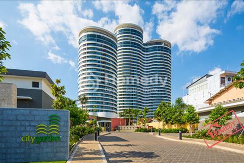 Bán ăn hộ City Garden, 1 phòng ngủ, 70 m2, view đẹp giá rẻ