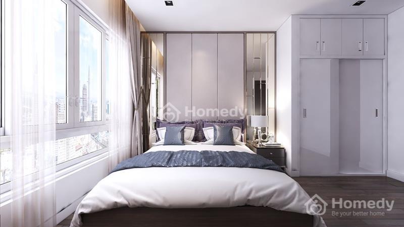 Phòng ngủ căn hộ Park 4