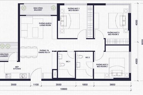 Chính chủ định cư bán gấp căn hộ Lancaster - Mặt đường Lê Lợi, Quận 1 - 120 m2 - Giá 8 tỷ