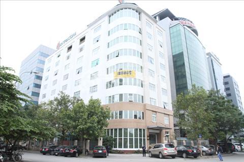 Cho thuê văn phòng nhà Intracom, Duy Tân, văn phòng giá rẻ quận Cầu Giấy, 100 m2, 170 m2, 220 m2.