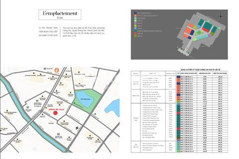 Nhà ở liền kề - Dự án Porte De Ville - 58 Trúc Khê - Đống Đa, Hà Nội