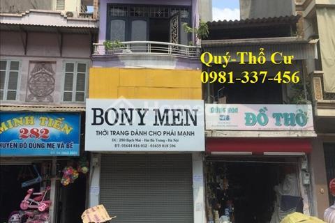 Cho thuê nhà mặt phố Nguyễn Lương Bằng 100 m2, mặt tiền 4 m, 20 triệu/tháng.