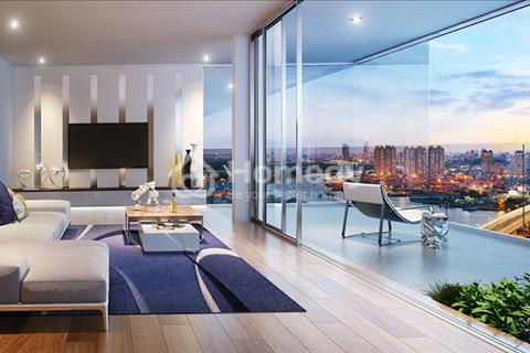 Căn hộ  Landmark Service Apartment, 100% view sông, full nội thất