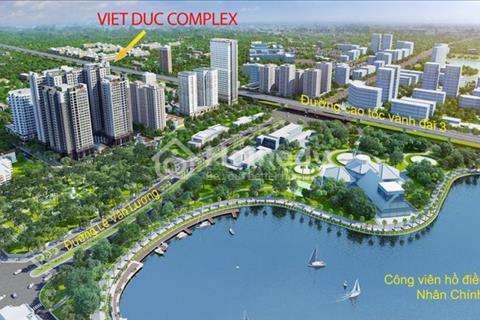 Cháy hàng chỉ còn 100 căn cuối dự án Việt Đức Complex, giá từ 24 triệu/m2. View hồ Nhân Chính 13 ha