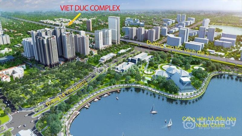 Cháy hàng chỉ còn 100 căn cuối dự án Việt Đức Complex, giá từ 24 triệu/m2. View hồ Nhân Chính 13 ha - 1