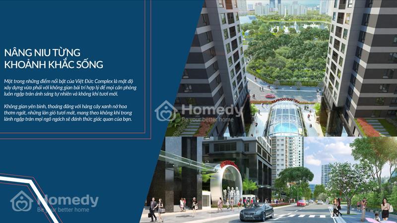 Cháy hàng chỉ còn 100 căn cuối dự án Việt Đức Complex, giá từ 24 triệu/m2. View hồ Nhân Chính 13 ha - 3