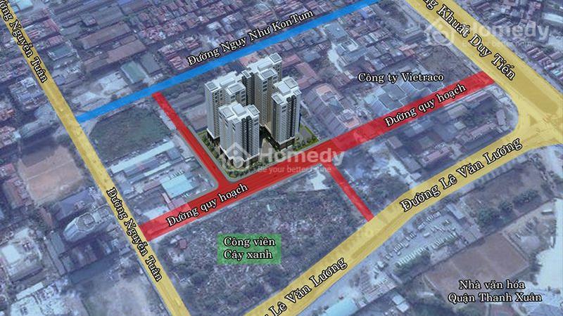 Cháy hàng chỉ còn 100 căn cuối dự án Việt Đức Complex, giá từ 24 triệu/m2. View hồ Nhân Chính 13 ha - 4