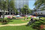 Công viên xanh ngoại khu Starlight Riverside - không gian sống xanh giữa lòng đô thị, mang đến một cuộc sống bình yên và an lành, làm trong lành khu đô thị, cải thiện sức khỏe cho dân cư tại nơi đây.